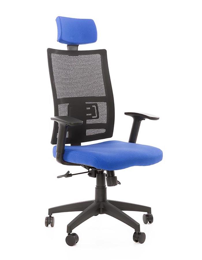 Kancelářské židle Antares - Kancelářská židle Mija modrá