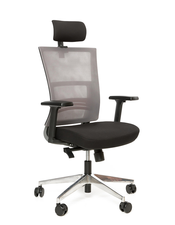 Kancelářské židle Antares - Kancelářská židle Next PDH černá