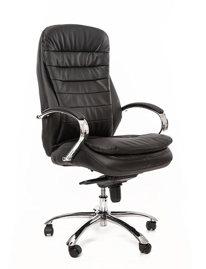 Kancelářské křeslo Sedia - Kancelářské křeslo Q154 černá koženka