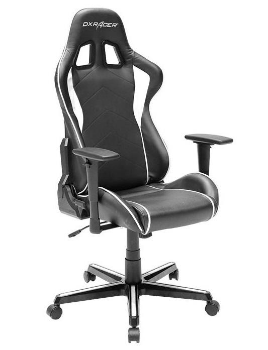 Kancelářské židle Node - Kancelářská židle DXRACER OH/FH08/NS - stříbrná
