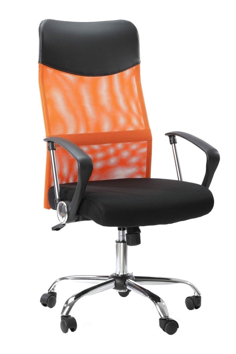 Kancelářské křeslo Sedia - Kancelářské křeslo Prezident oranžový