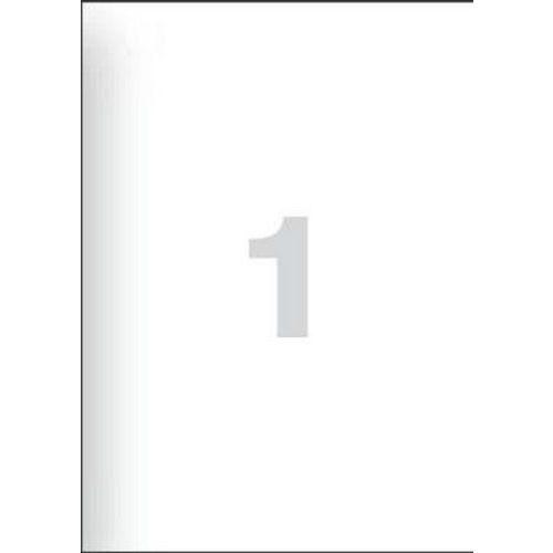 Samolepicí etikety, 210 x 297 mm, 100 ks