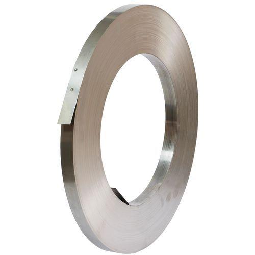 Ocelová vázací páska, 32 mm, tloušťka 0,8 mm, návin 185 m
