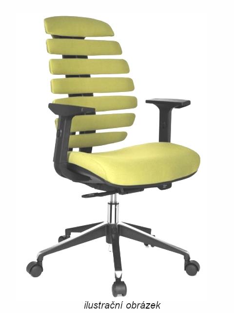 Kancelářské židle Node - Kancelářská židle FISH BONES šedý plast, oliva 26-32
