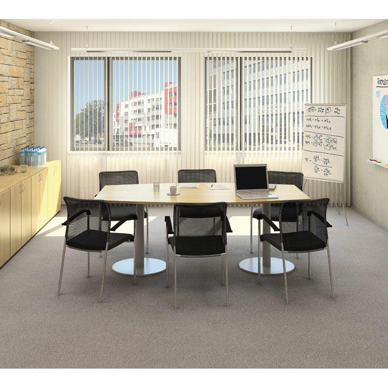 Stůl konferenční CLASSIC, 1600x800x742 mm, ořech