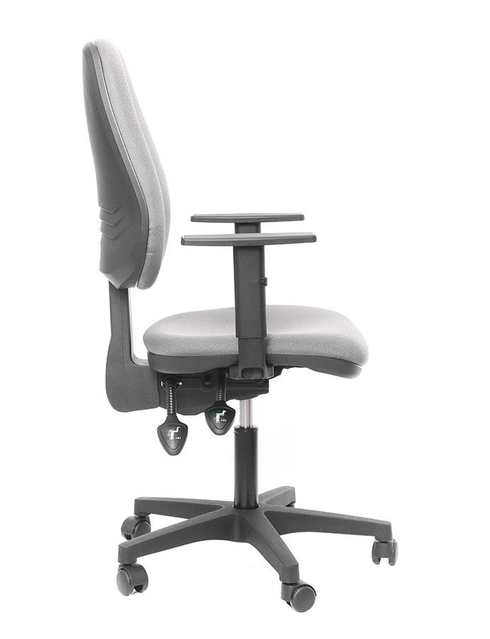 Kancelářské židle Alba - Kancelářská židle Diana šedá