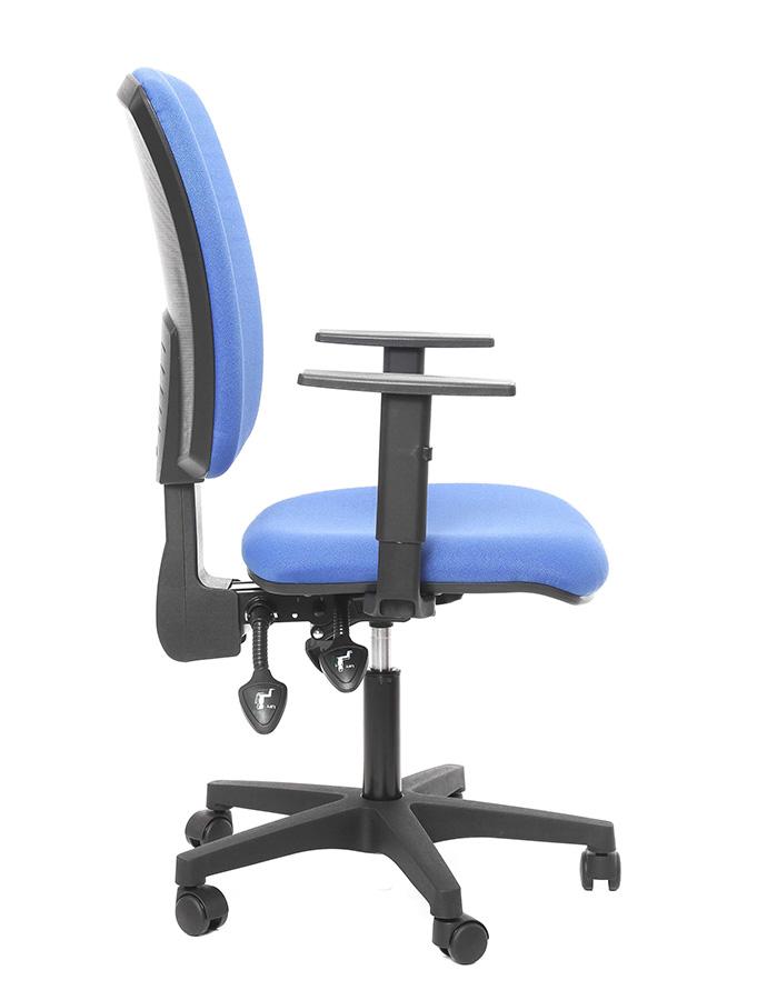 Kancelářské židle Alba - Kancelářská židle Matrix modrý