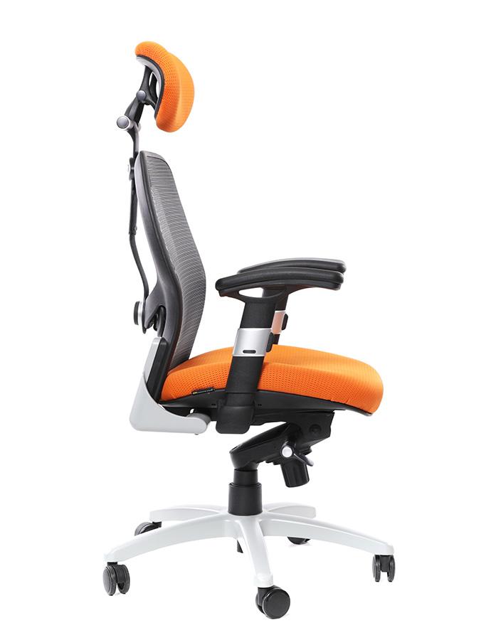 Office pro - Kancelářské křeslo Saturn oranžový