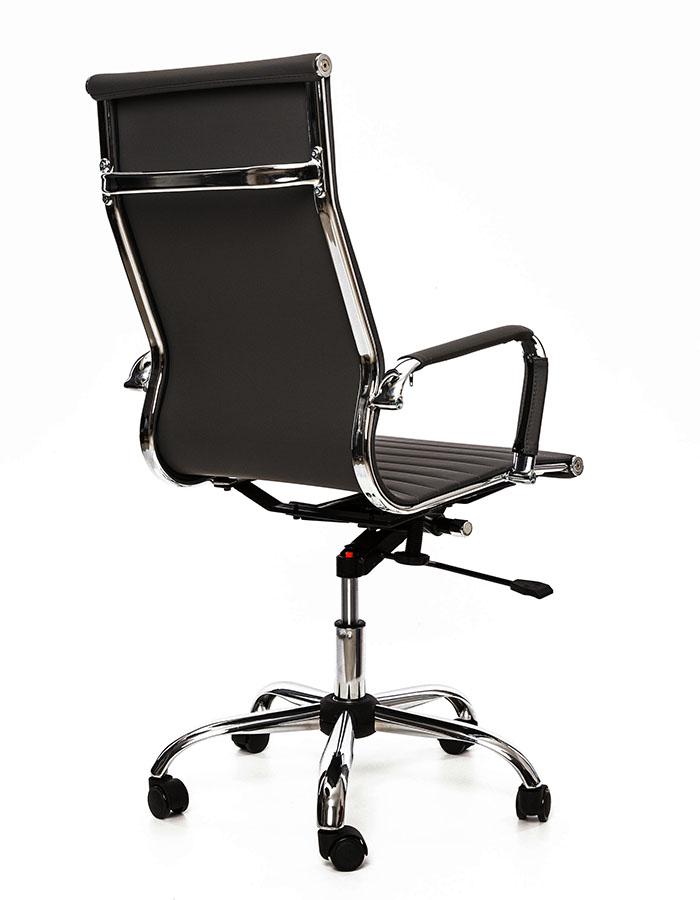 Kancelářské křeslo Sedia - Kancelářské křeslo Q040 černá koženka