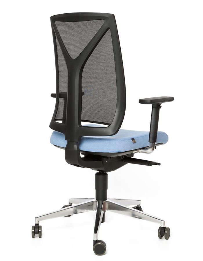 Kancelářské židle LD Seating - Kancelářská židle Leaf 503-SYS P CSE08 R100 BR209N6 F40N6 RM