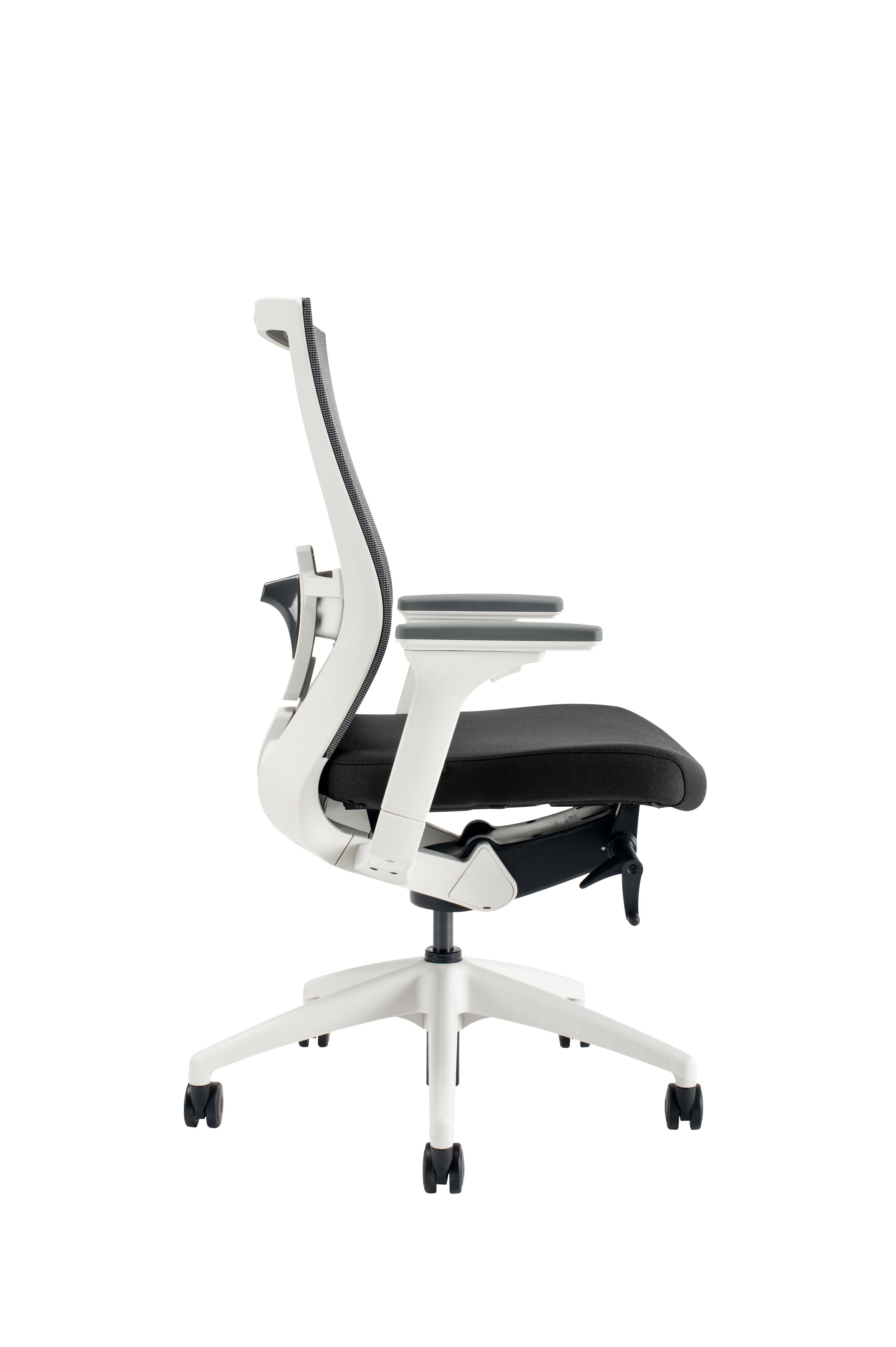 Kancelářské židle Office pro - Kancelářská židle Merens White BP