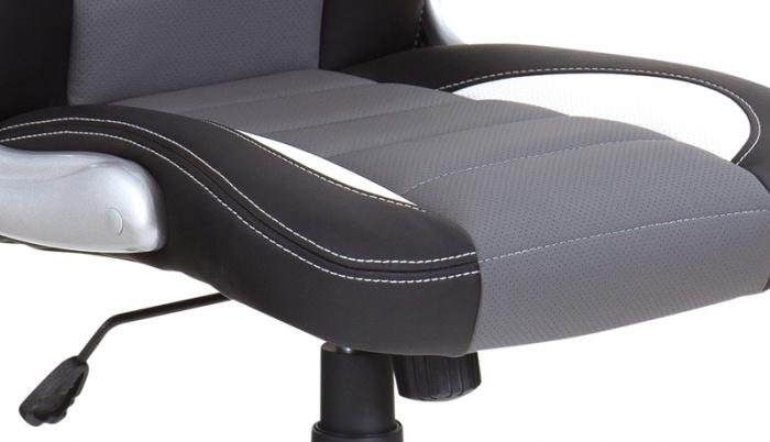 Kancelářské křeslo NODE - Kancelářské křeslo LOTUS černo-šedé