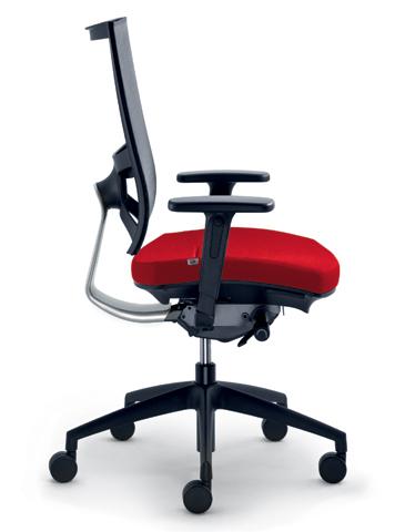 Kancelářská židle LD Seating - Kancelářská židle Storm 547-N6-TI