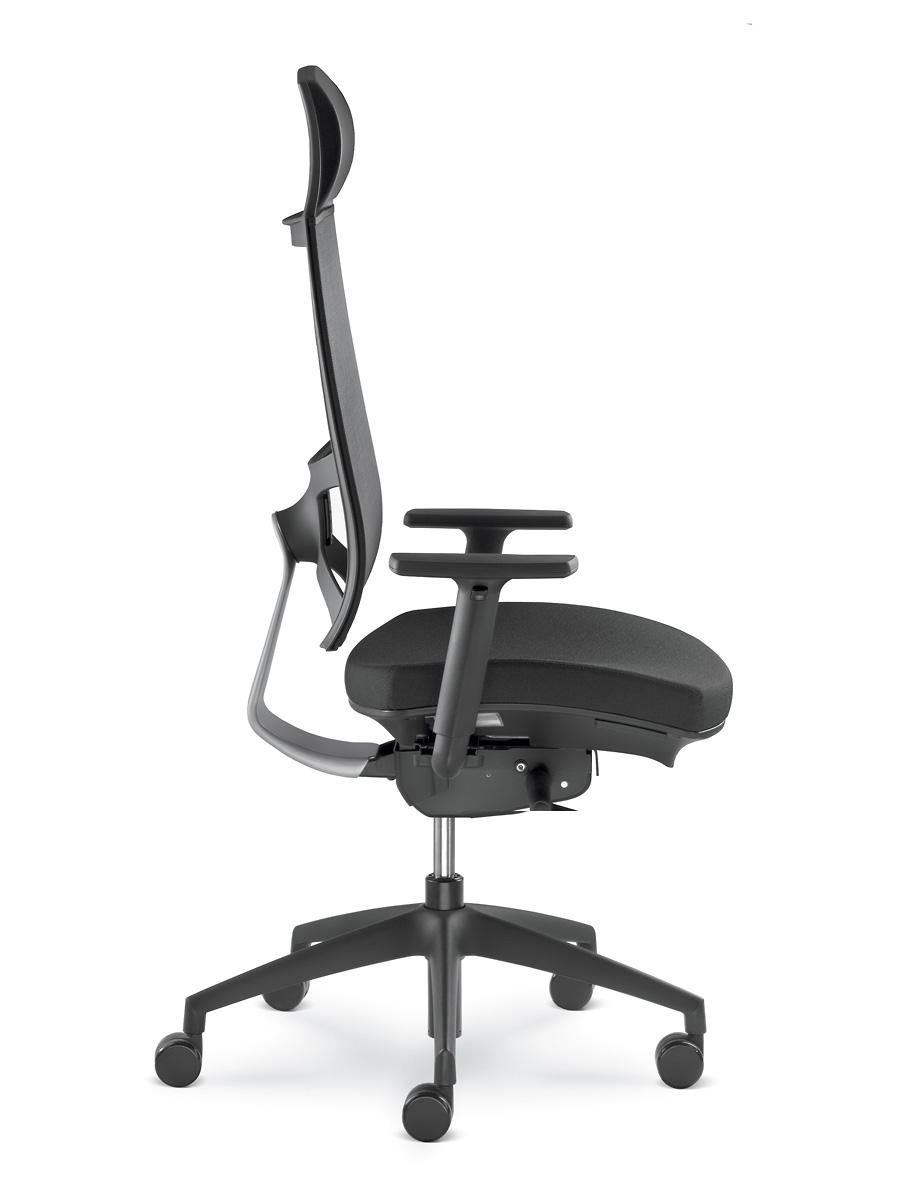 Kancelářské křeslo LD Seating - Kancelářské křeslo Storm 555-N6-TI