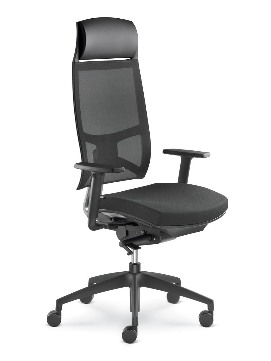 Kancelářské křeslo LD Seating - Kancelářské křeslo Storm 555-N2-TI
