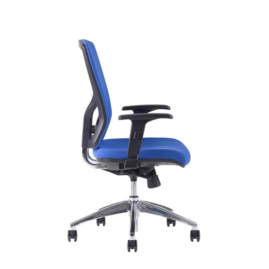 Kancelářské židle Office pro - Kancelářská židle Halia CHR BP