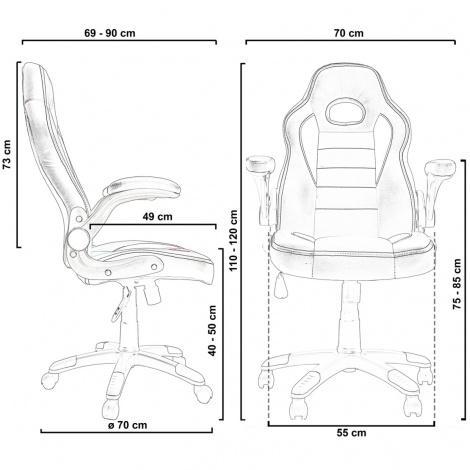Kancelářské židle Sedia - AUTRONIC Kancelářská židle KA-E240 GREY