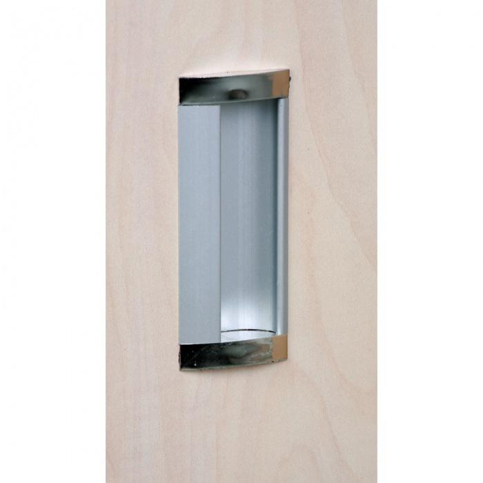 Skříň zasouvací Mirelli A+, 800x400x800 mm, ořech
