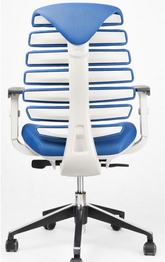 Kancelářská židle Node - Kancelářská židle FISH BONES šedý plast