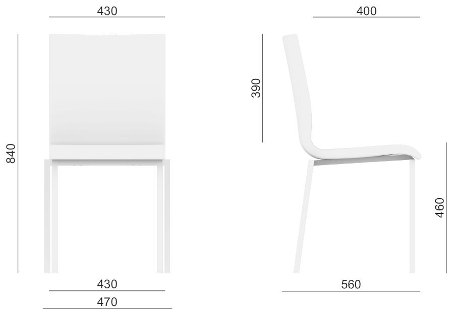 Konferenční židle Twist 246