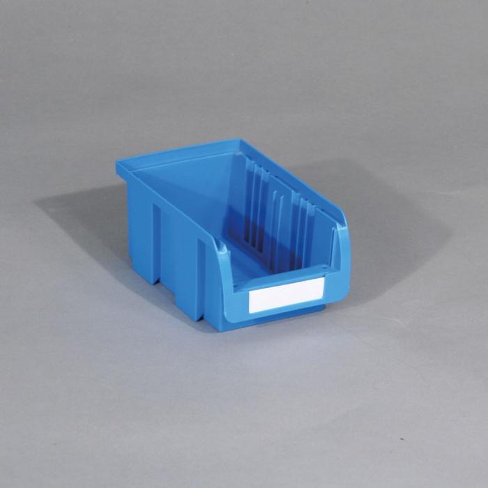 Plastový box COMPACT, 102x100x60 mm, modrý