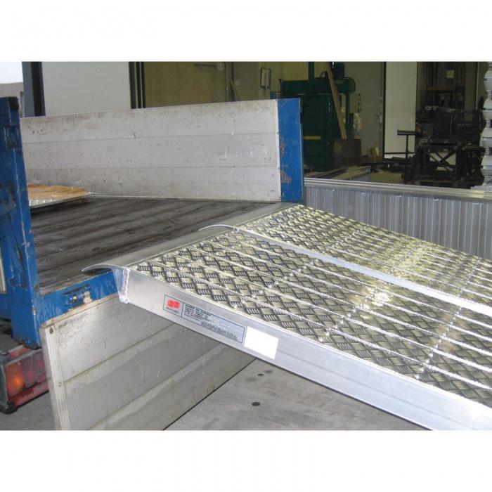 Nájezdové rampy HEAVY, pár, délka 3000 x šířka 360 mm