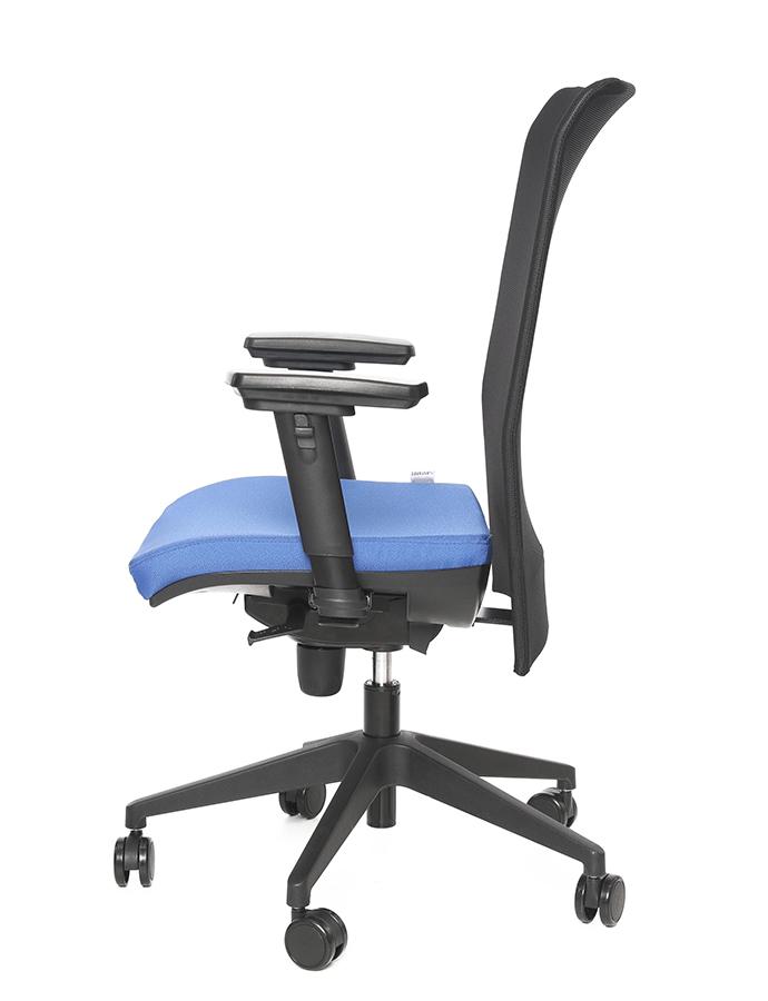 Kancelářské židle Antares - Kancelářská židle 1580 SYN GALA NET (GREY)
