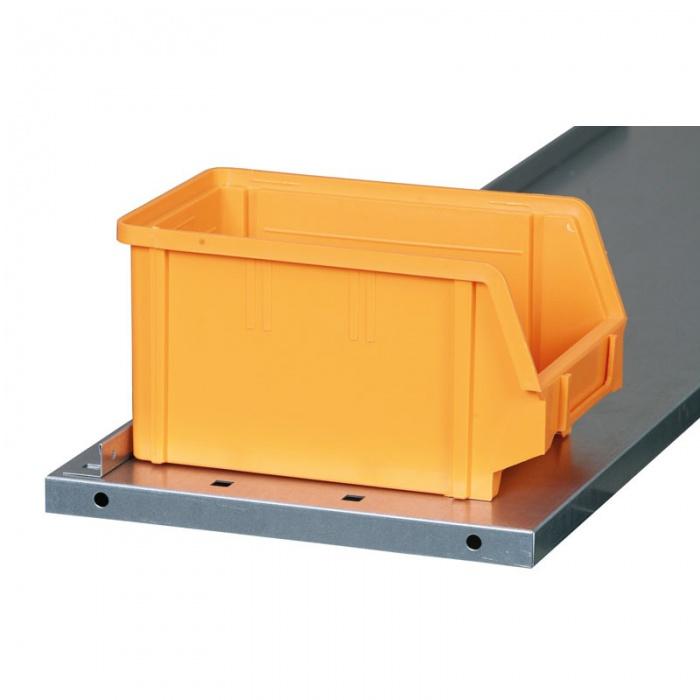 Regál s plastovými boxy - 1800x920x300 mm, 64x A, 24x B