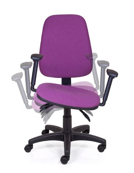 Ergonomické židle - zdravotní Peška - Kancelářská židle Alex Balance
