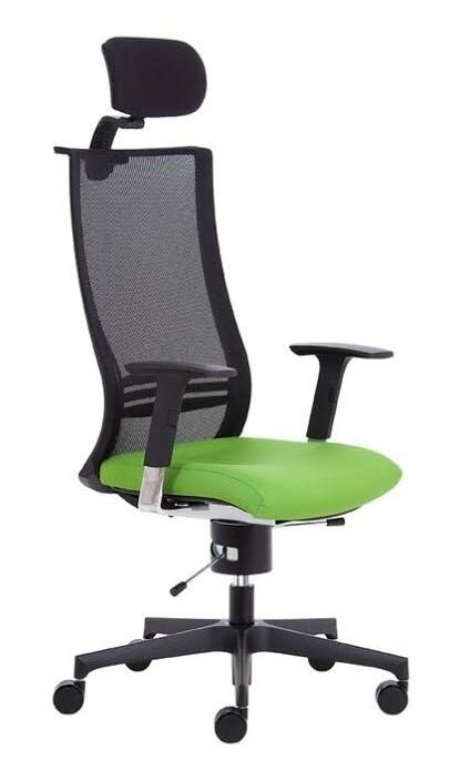 Ergonomické židle - zdravotní Peška - X - WING FLEX XL+P BK