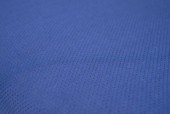 Kancelářská židle Node - Kancelářská židle FISH BONES černý plast, modrá látka 26-67