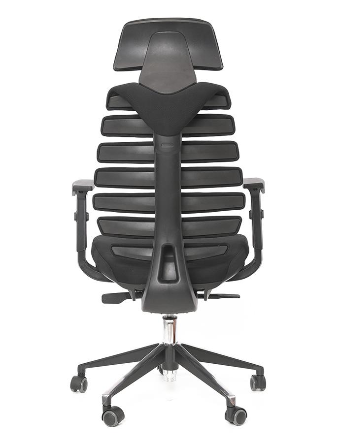 Kancelářská židle Node - Kancelářská židle FISH BONES PDH černá 26-60