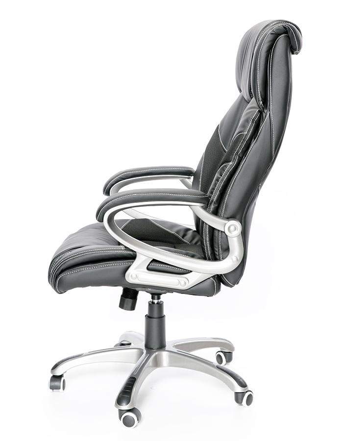 Kancelářské židle Node - Kancelářské křeslo Maximus černý plastový kříž