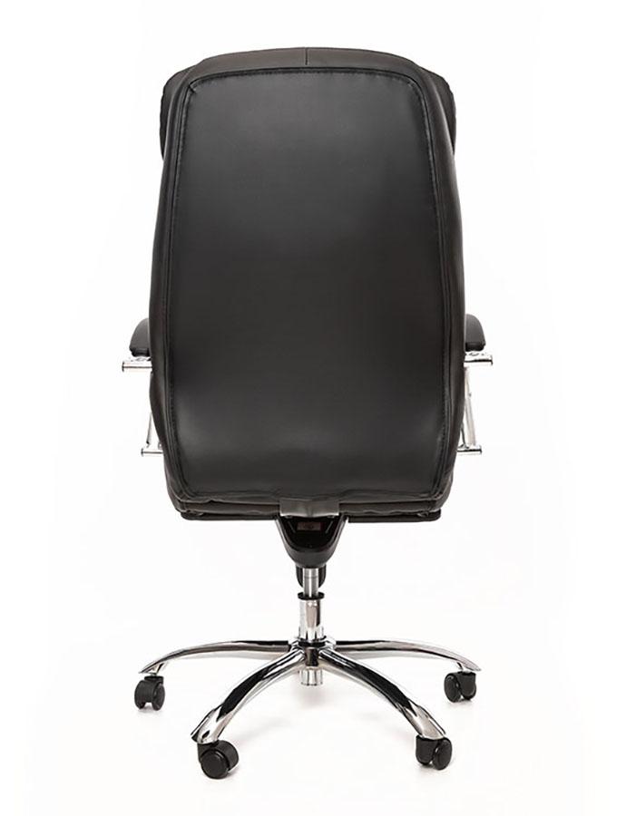 Kancelářské křeslo Sedia - Kancelářské křeslo Q154 černá kůže