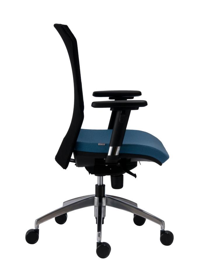 Kancelářské židle Antares - Kancelářská židle 1580 SYN Gala NET (grey) ALU