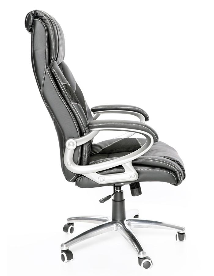 Kancelářské křeslo Node - Kancelářská židle Maximus černá kovový kříž