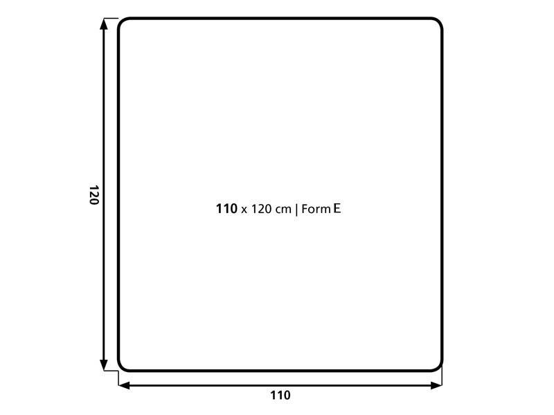 Podložka na koberec BSM E 1,2x1,1