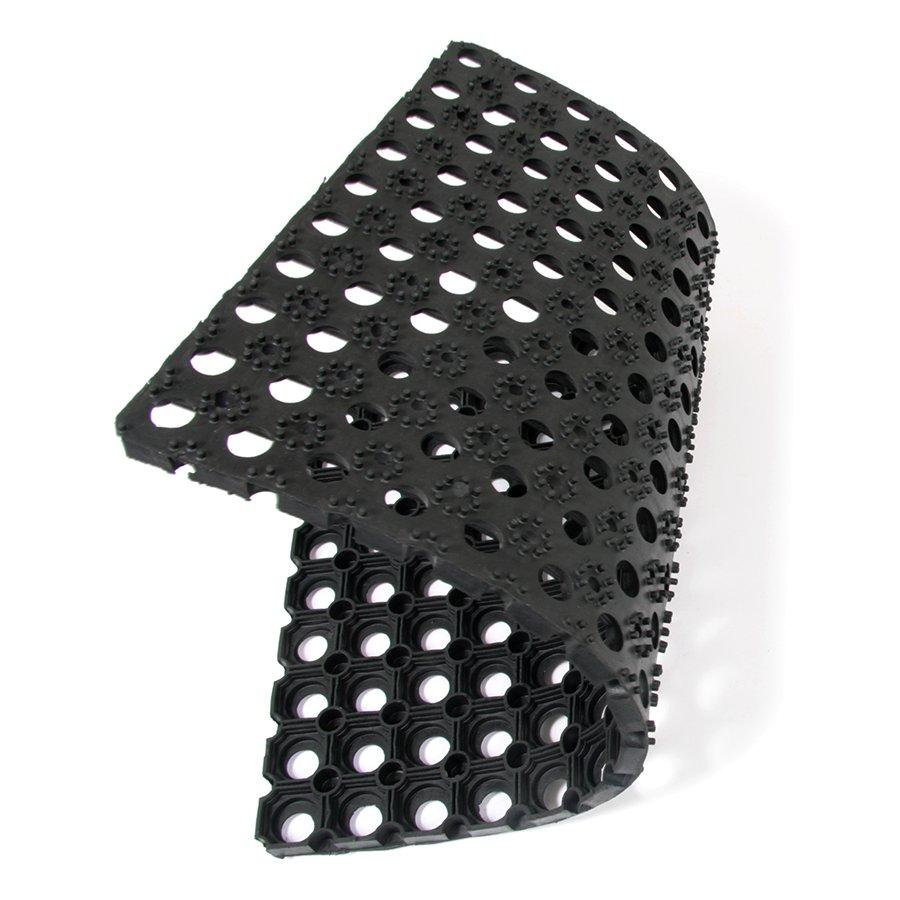 Gumová vstupní čistící rohož Honeycomb - 60 x 40 x 2,2 cm