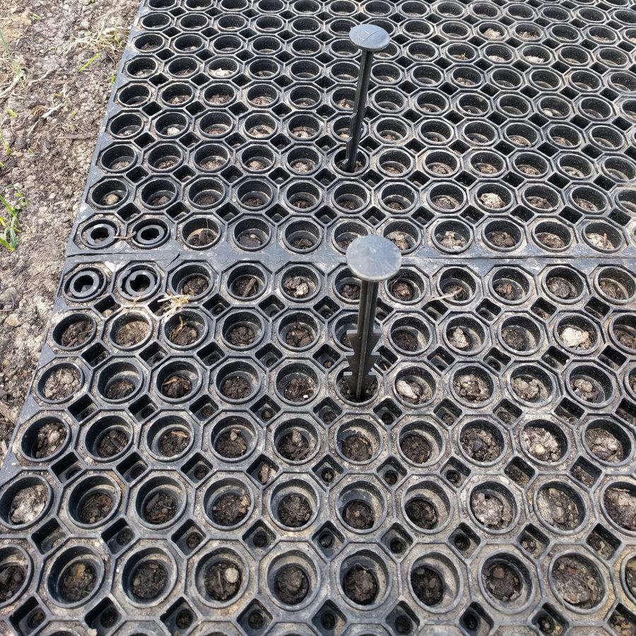 Gumová spojka pro rohože Octomat, Honeycomb