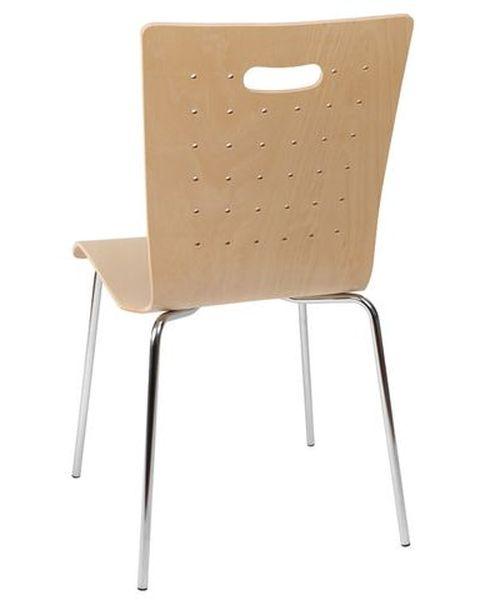 Konferenční židle Tulip bez čalounění