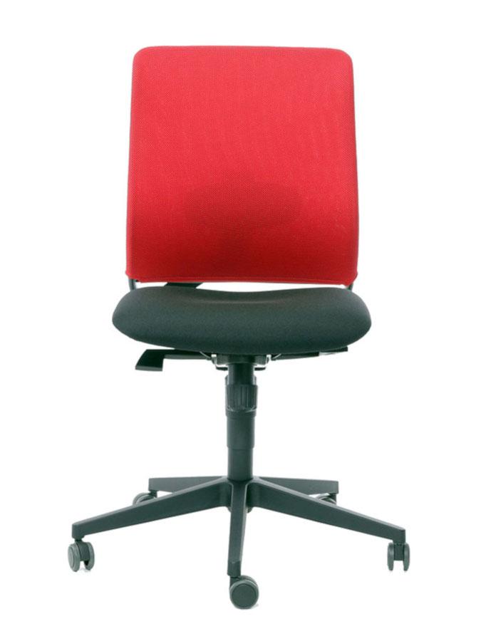 Kancelářská židle Theo@ 260-SY černo červená