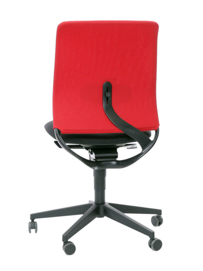 Kancelářské židle LD Seating - Kancelářská židle Theo@ 260-SY černo červená