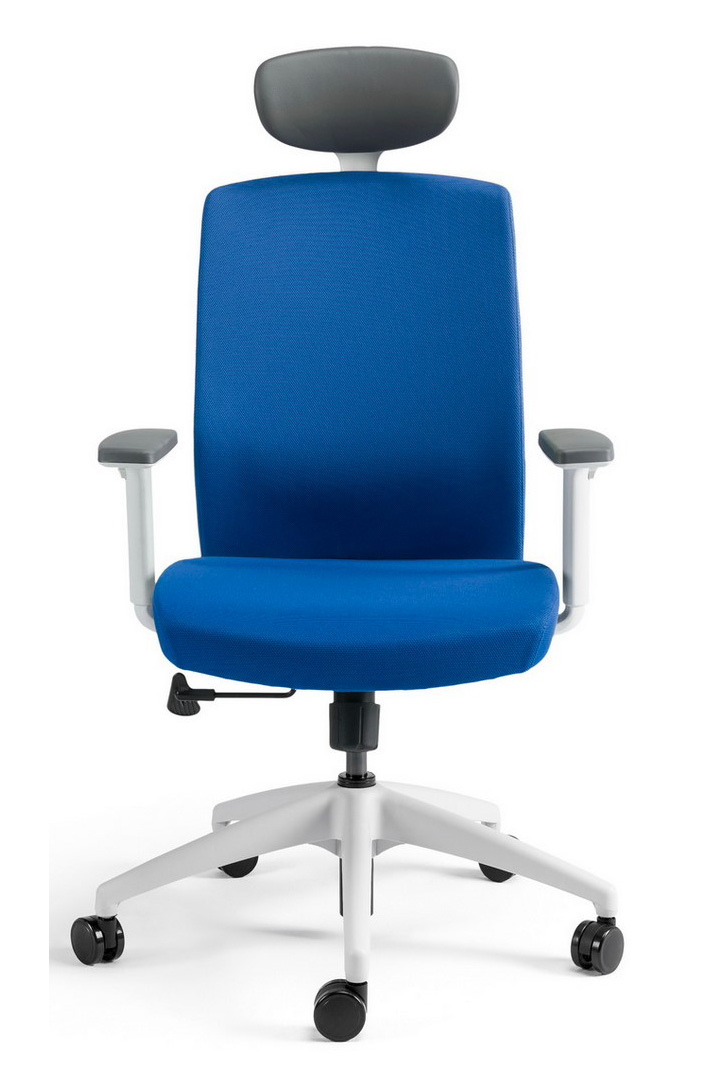 Kancelářské židle BESTUHL - Kancelářské křeslo J2 ECONOMIC bílý plast