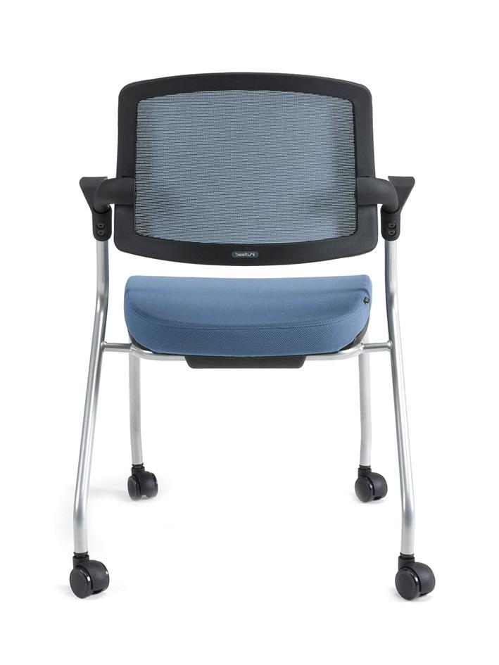 Konferenční židle U20 černý plast