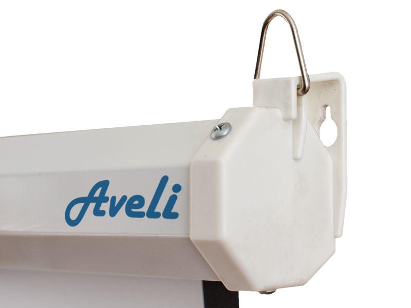 Nástěnné projekční plátno AVELI, 240x180cm (4:3)