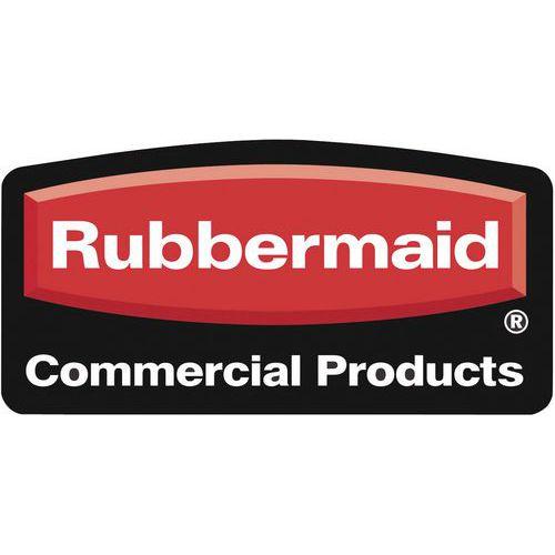 Vnější závěsný plastový odpadkový koš Rubbermaid Soft, černý, objem 4,5 l