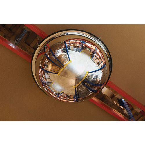 Průmyslové parabolické zrcadlo Manutan, polokoule, 1000 mm