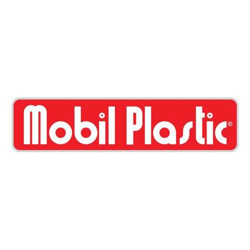 Plastová venkovní popelnice, objem 100 l, šedá/zelená