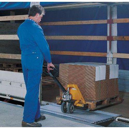 Přejezdový můstek, do 4 000 kg, 41 x 125 cm