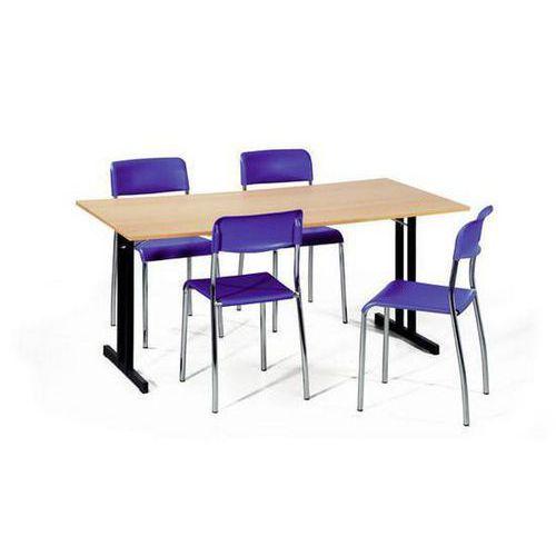 Skládací jídelní stůl Primus, 160 x 80 x 72 cm